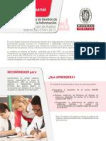 47. SG Seguridad de La Información ISO 270001 y Auditor Interno Ver.2