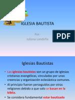 Bautistas Exposicion