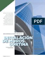 Manual de Instalación Muro Cortina