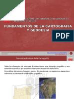 Fundamentos de La Cartografía y La Geodesia