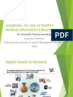 Academia- Its Role in HI March 02