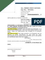 Recurso Julio Rojas Odecma Marzo 2019
