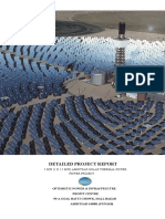 10 Mw Solar Thermal Power Project Report