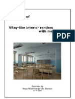 Vray Mentalray for MAYA Summary of VRay