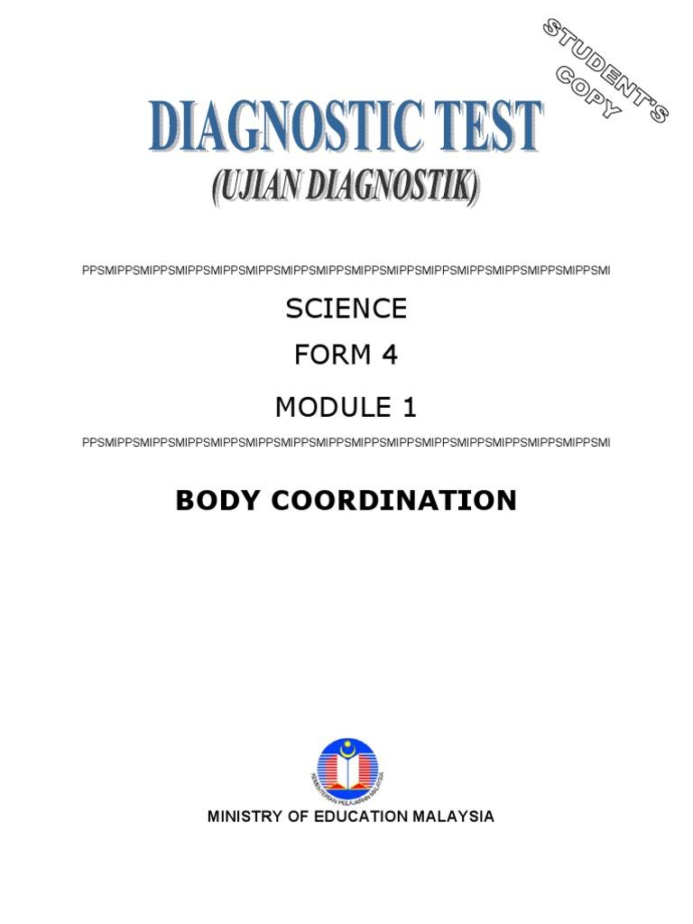 Sains Student\'s Copy Module 1 | Stimulus (Physiology) | Nervous System