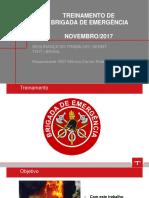Treinamento Da Brigada de Emergência_2017