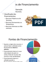 Decisões de Financiamento