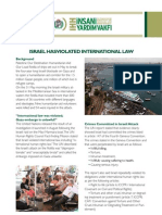 "IHH Newsletter ""ISRAEL HAS VIOLATED INTERNATIONAL LAW"""