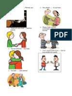 Oraciones en Ingles Ilustradas