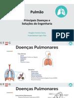 Pulmão - Principais Doenças e  Soluções de Engenharia
