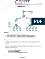 6.3.1.3 Packet Tracer Layer 2 VLAN Security
