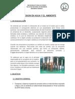 Corrosión procesos químicos