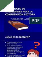 Presentación de comprensión lectora