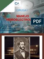Clase 1 Manejo hidroelectrolìtico SCG