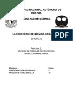 Practica 3. Orgánica III