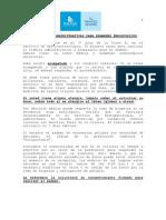 (Indicaciones Administrativas Para Ex Endoscópicos_indisa