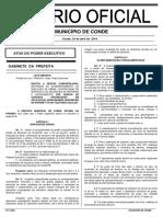 Lei Da Gestão Compartilhada - Conde - PB