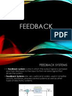 Introduction to Feedback and Control Systems