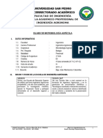 Silabo de Microbiologia Agricola Sem i - 2017