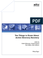 10 Things Active Directory