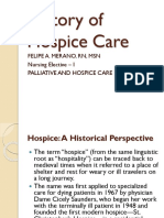 History of Hospice Care