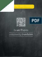 Grand Rapids Community Foundation annual report