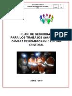 Plan de Seguridad Camara de Bomba San Cristobal Abril[1]