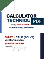 1 - Computational Mode Caltech
