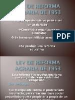 Copia de Ley de Reforma Agraria de 1953 (Parte 2).ppt