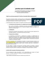 Buenas Prácticas para la inclusión social - LAURA GIMÉNEZ