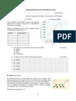 Evaluacion Diagnostica 2019 1ro