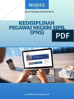 Modul E-Learning Kedisiplinan Pegawai Negeri Sipil (PNS)