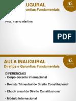 Aula 01 Prof Flavio Martins 06-02-2017 Ppt