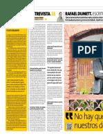 Entrevista Rafael Dumet Peru 21