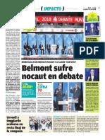 Belmont Sufre Nocaut Ojo