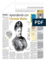 Clorinda Matto Peru 21