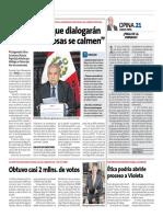 Primer Ministro DIaloga Peru21