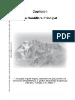 Capitulo 1. La Cordillera Principal
