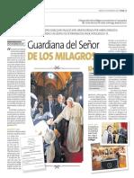 Guardania Señor de los Milagros - Peru21