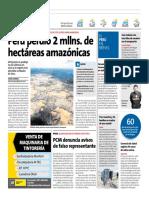 Peru Perdió Hectáreas en Amazonia - Peru21