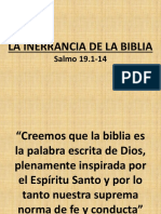 La Inerrancia de La Biblia1