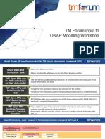 TM Forum Input to ONAP Modeling Workshop 2017-12-14
