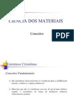 0 - Ciência dos Materiais - Conceitos.pdf