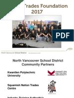 Piping Trades Foundation Presentation