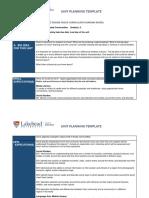backward design unit plan assignment   1