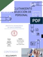 Recrutamiento y Seleccion de Personal