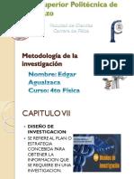 Cap VII Metología de La Investigación Científica (Sampieri)