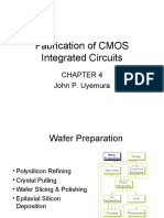 Fabrication of CMOS Integrated Circuits