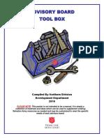 Advisory Board Toolbox 2016