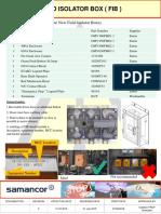 Field Isolator Box Std